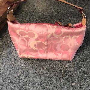 Coach signature mini bag Pink